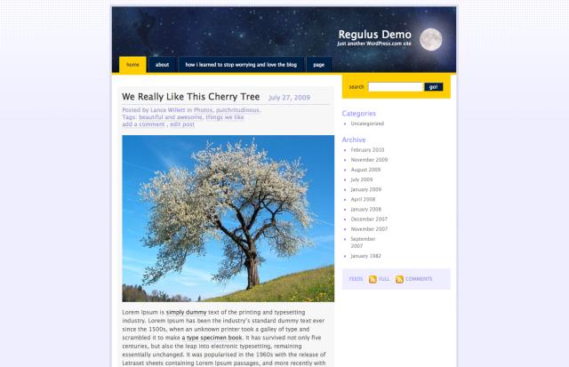 regulus-screenshot
