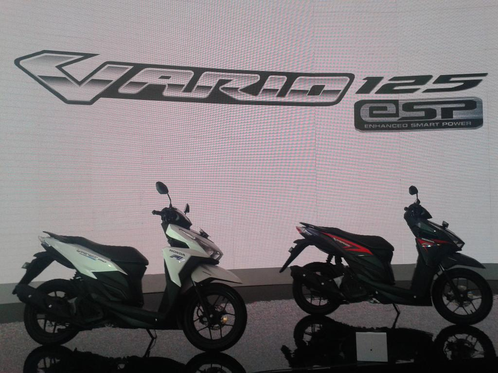 Simulasi Kredit Motor Honda Vario 125 Esp New Cbs Sonic White Red Kab Semarang Update Warungbiker Com