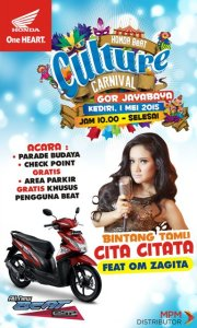 Honda BeAT Cover Culture Carnival -