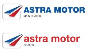 Logo Astra Motor 2015