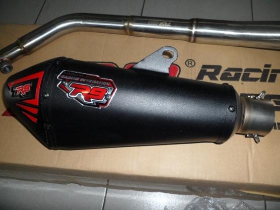 Knalpot R9 Honda Sonic 150R (3)