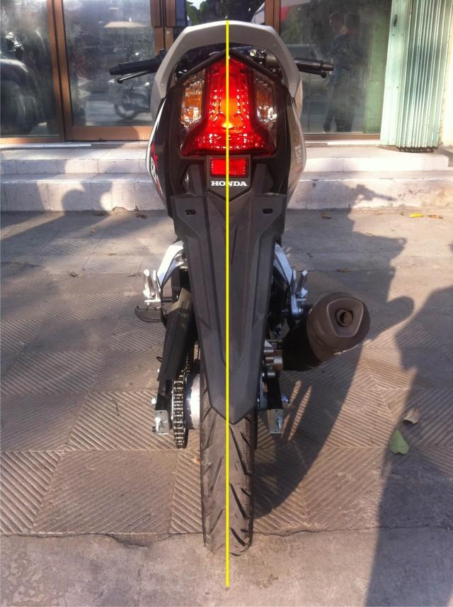 rear fender sonic 150R