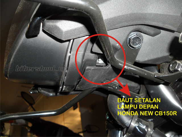 cara menyetel lampu depan new CB150R (3)