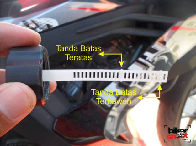 Deep Stick Resevoir Tank Honda New Sonic 150R
