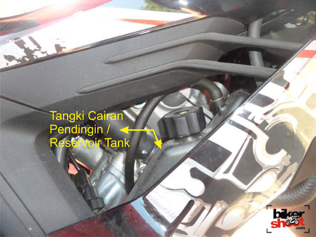 Resevoir Tank Honda New Sonic 150R