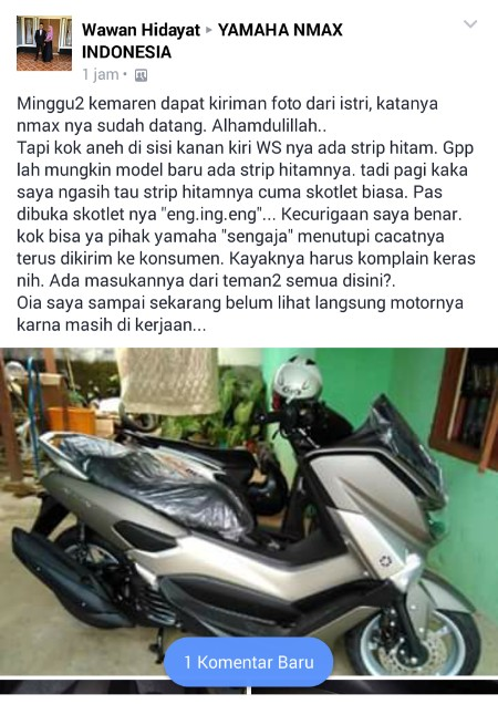 Cat Yamaha Nmax Cacat (2)