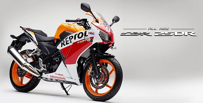 CBR250R Repsol Edition - CBU