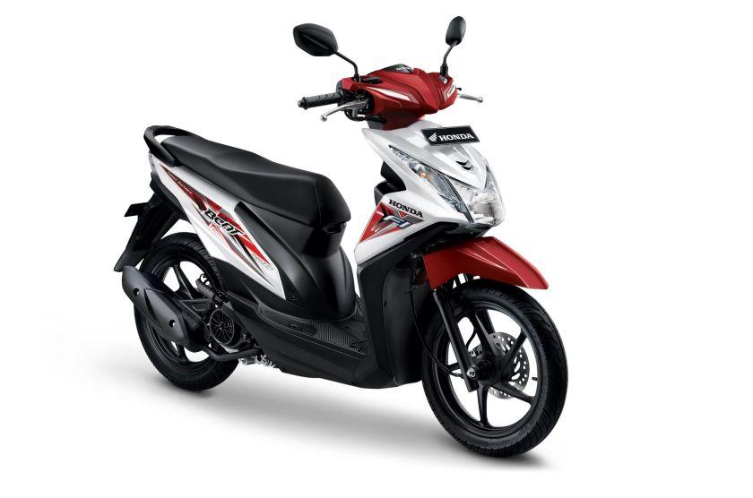 Honda Beat eSP Sporty - Putih Merah