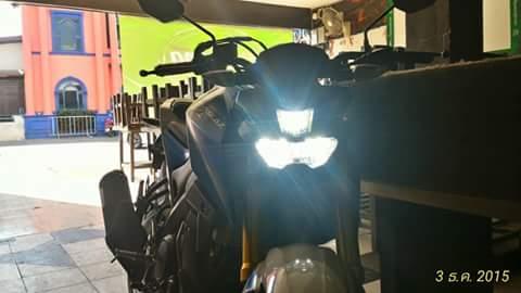 Nyala Lampu Dekat - Jauh Yamaha M-slaz