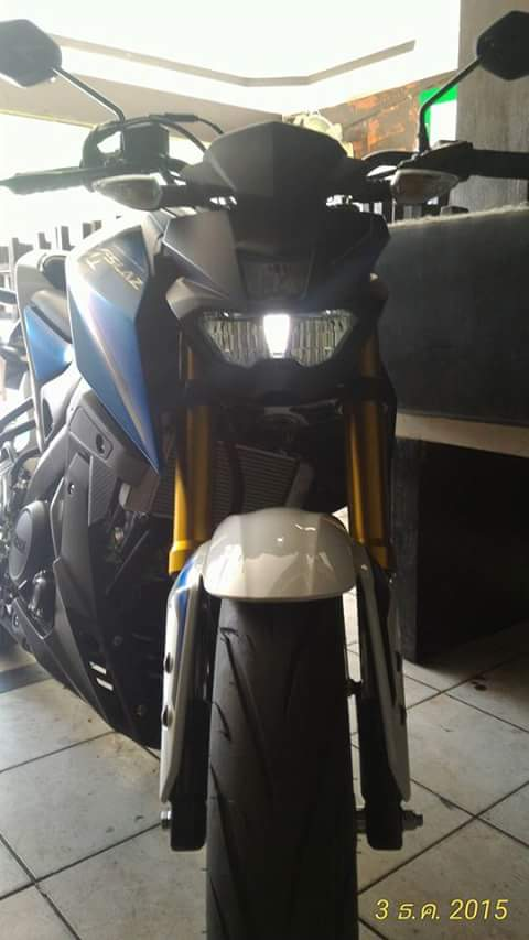 Nyala Lampu Senja Yamaha M-Slaz