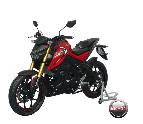 Yamaha M-Slaz Red - Black (1)