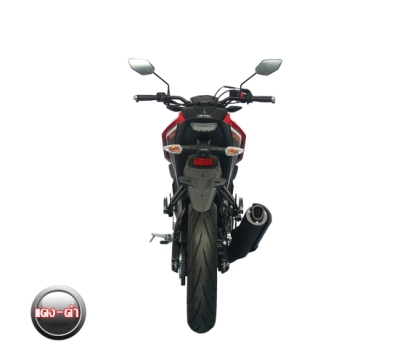Yamaha M-Slaz Red - Black (4)