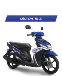 Yamaha Mio M3 Biru