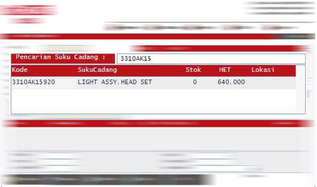 Harga Lampu depan New CB150R