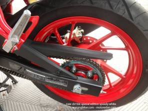 Honda New CB150R Spesial Edition Speedy White (15)