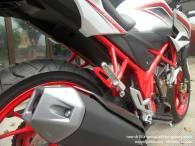 Honda New CB150R Spesial Edition Speedy White (3)