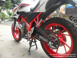 Honda New CB150R Spesial Edition Speedy White (5)