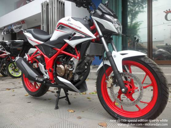 Honda New CB150R Spesial Edition Speedy White (7)