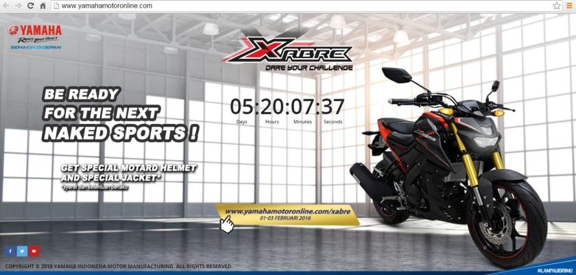 Indent Online Yamaha Xabre