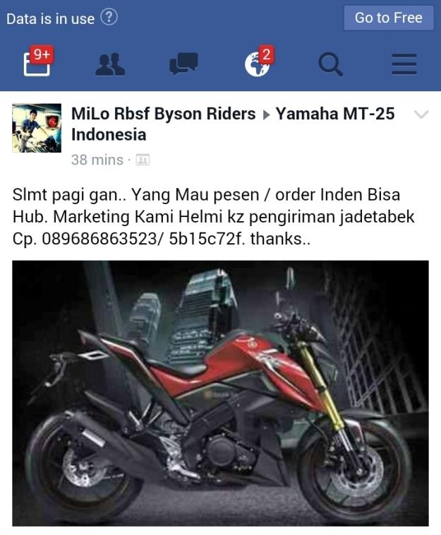 Indent Yamaha MT-15 (1)
