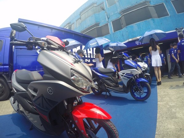 Launching Yamaha Aerox 125 LC (1)