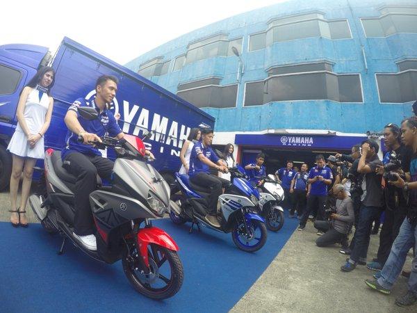Launching Yamaha Aerox 125 LC (3)