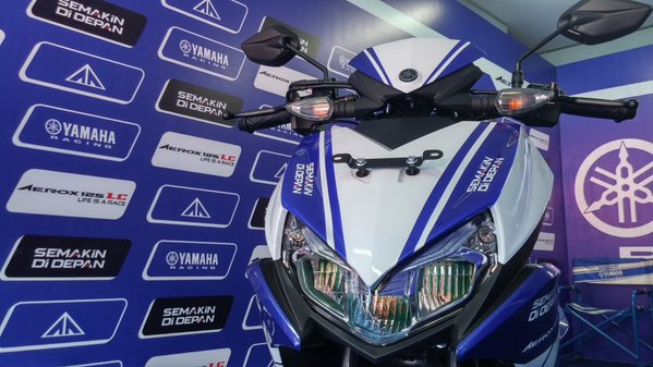 Yamaha Aerox Tidak Pakai Blue Core