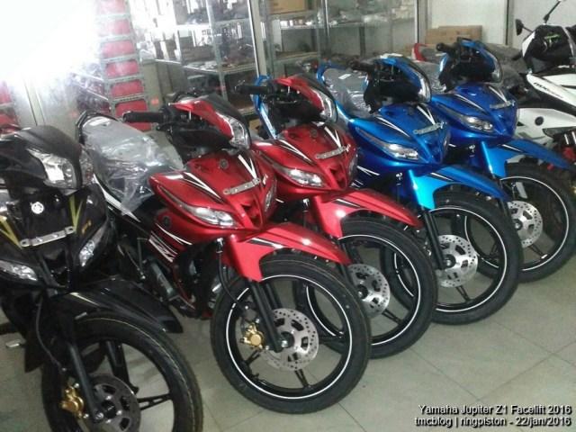 Yamaha Jupiter Z1 2016 merah
