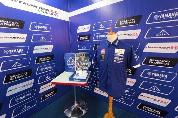 Yamaha pit shirt Moto GP 2016.