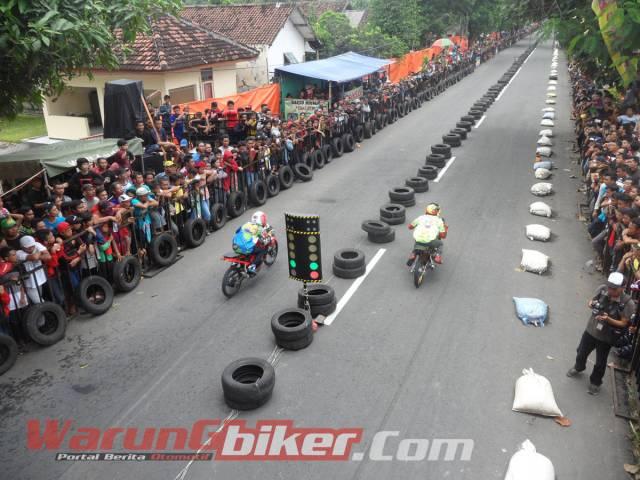 Hasil Lengkap Semua Kelas Kejuaraan Drag Bike Tanpa Batas Kediri 2016