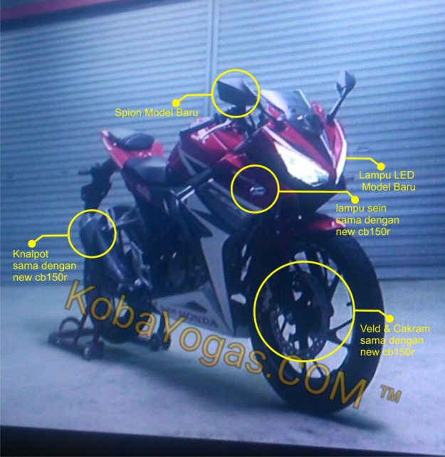 Spyshot New CBR150R 2016 (1)