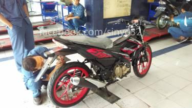 Suzuki Satria Fu 150 Fi Sudah Landing di Kota Patria Blitar (1)