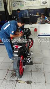 Suzuki Satria Fu 150 Fi Sudah Landing di Kota Patria Blitar (2)