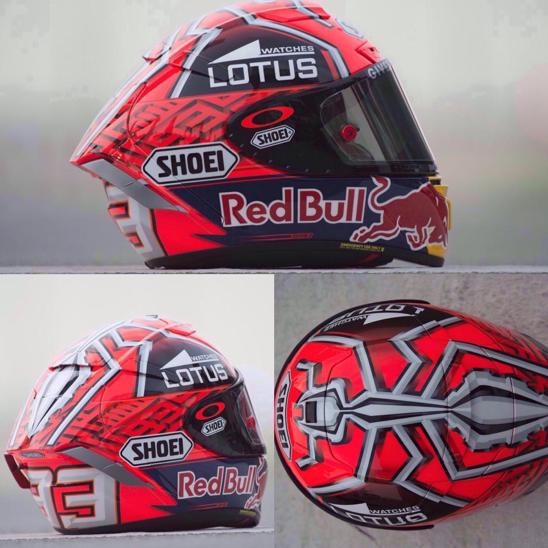 Helm Baru marquez