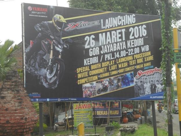 Launching Yamaha Xabre Kediri