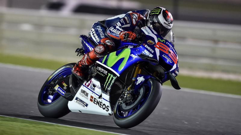 Lorenzo Juara motoGP Qatar 2016