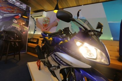Yamaha R15 Facelift 2016 Racing Blue 2