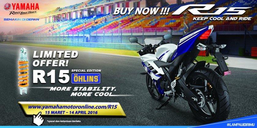 Yamaha R15 Facelift 2016 Spesial Edition