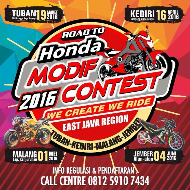 Honda Modif Contest Jatim 2016