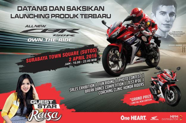 Launching All New CBR150R Surabaya