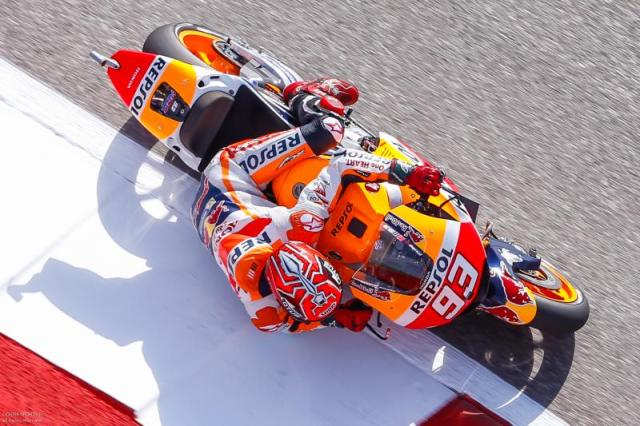 Marc Marquez Dominasi Latihan Bebas 1 & 2 MotoGP Austin, Amerika 2016