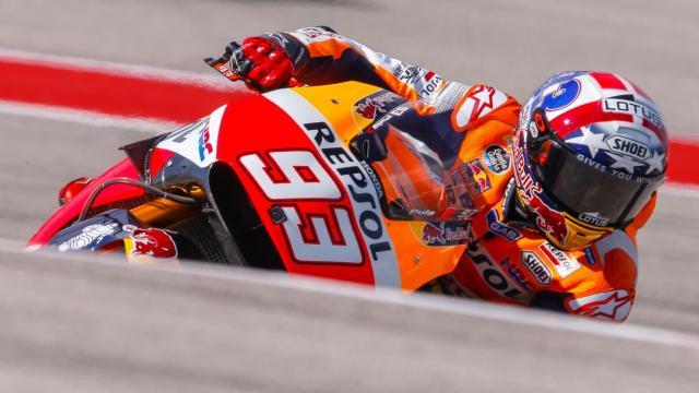 Marquez Tercepat Kualifikasi, Lorenzo - Rossi Front Row