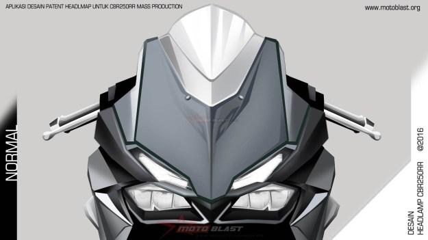 Rendering Aplikasi Patent Headlamp CBR250RR Oleh Motoblast (5)