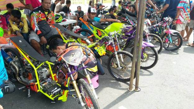 Hasil Balap Drag Bike Blitar Jatim, 5 Mei 2016