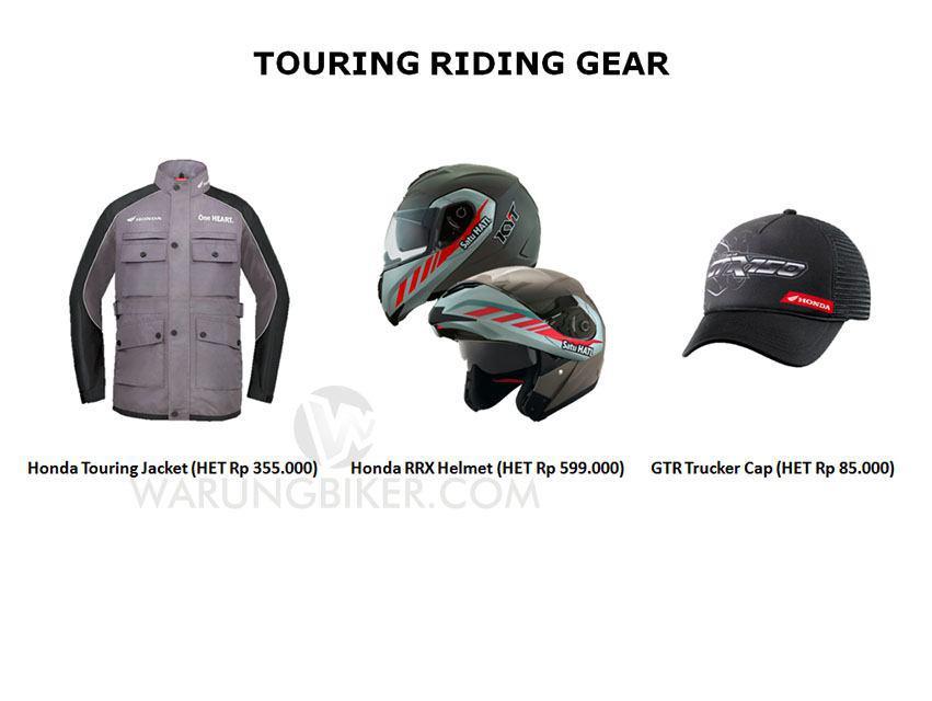 Intip Yuk Harga Accessories, Customized Parts dan Apparel Supra GTR 150 (4)