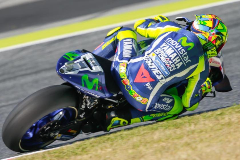 Rossi Tercepat Warm Up MotoGP Catalunya, Spanyol 2016