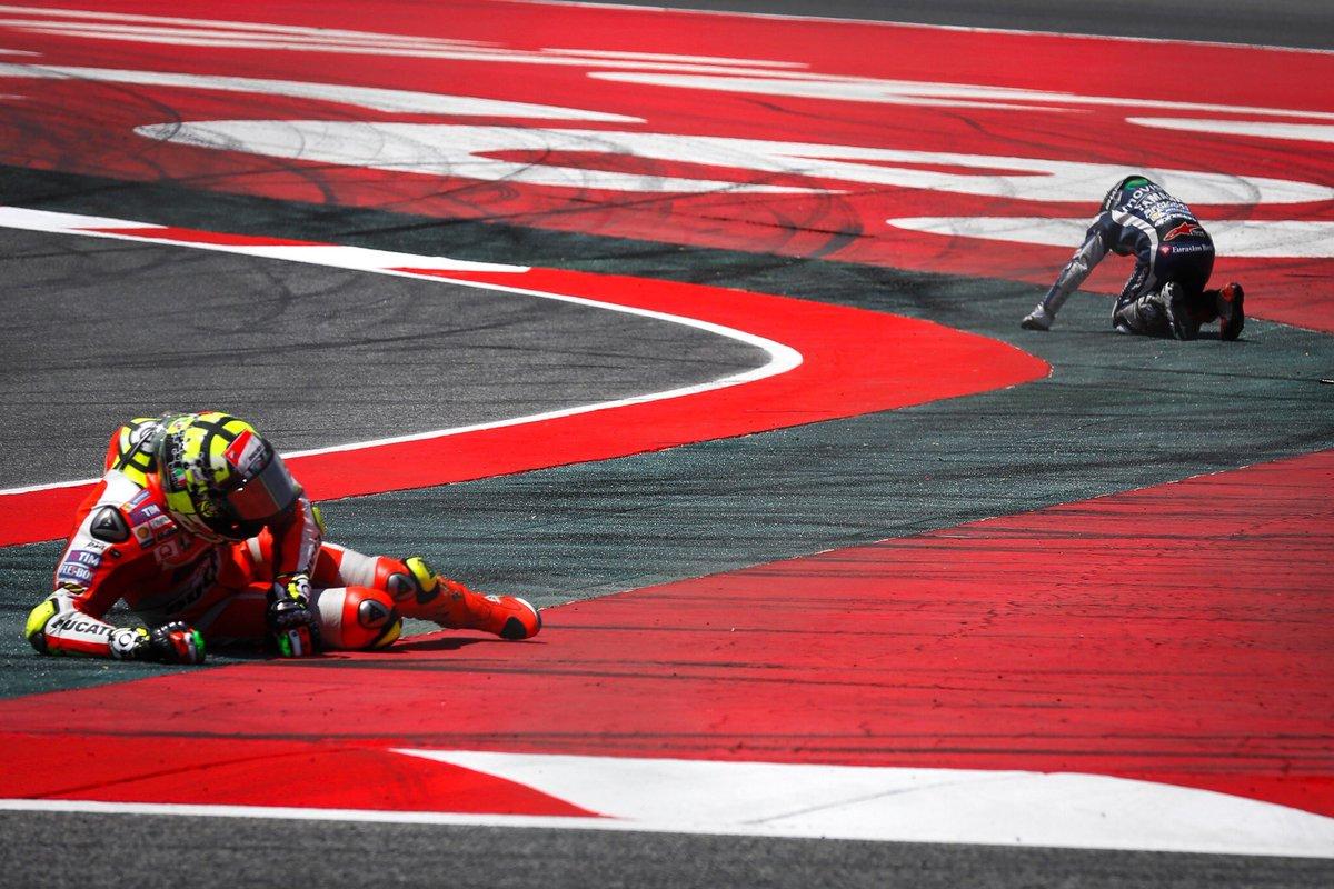 Terlibat Insiden Dengan Lorenzo, Iannone Akan Start dari Belakang di Seri Assen
