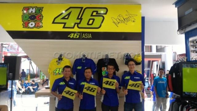 Yamaha Indonesia Rilis Valentino Rossi 46│ASIA, Aparrel Store Resmi VR46 Mulai 25 Ribuan Bro-sist,..