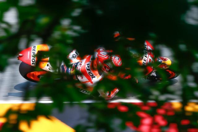 Marquez Juara Race Flag to Flag MotoGP Sachsenring Jerman 2016, Rossi ke-8 & Lorenzo ke-15