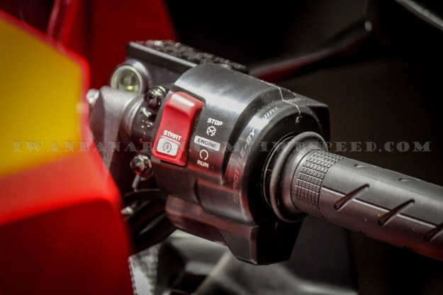 Switch Starter All New CBR250RR Twin Cylinder, Serupa Dengan MT-07  MT-09 Switch Namun Beda Pengoperasian